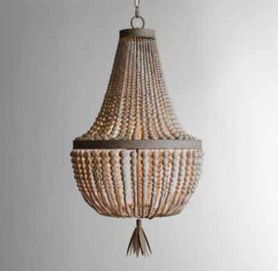 Dauphine wood empire chandelier - RH Baby & Child