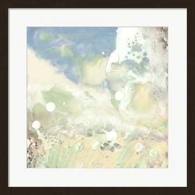 """Sea Dream II - 24"""" x 24"""" - Dark Bronze Brown Frame - framedart.com"""