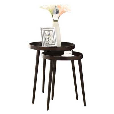 Deltha 2 Piece Nesting Table Set - AllModern