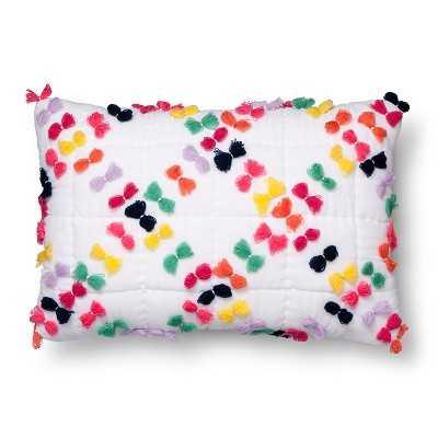 """Tassel Throw Pillow - 18""""x12"""" - Polyester Insert - Target"""