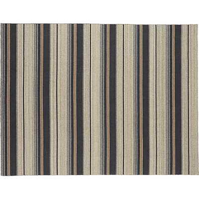 The Hill-Side workwear blanket stripe rug - CB2