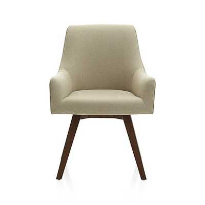 Harvey Chair Natural - Crate and Barrel