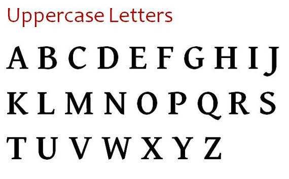 """8"""" Wood Letter Uppercase Shabby Decor - M - Etsy"""