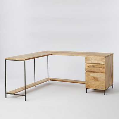 Industrial Modular Desk Set - West Elm