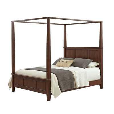 Chesapeake Canopy Bed -King - Wayfair
