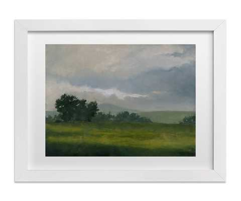 "Broken Clouds - 30"" x 40"" - framed - Domino"
