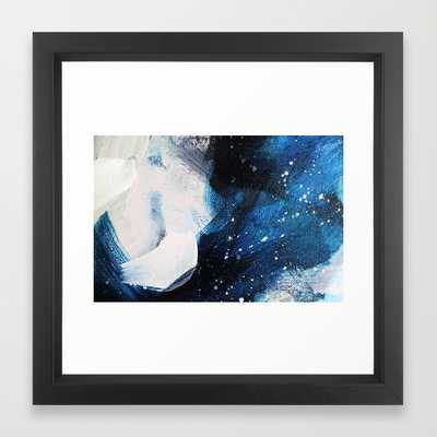 Palette No. Twenty Art Print - 12'' x 12'' - Vector Black Frame - Society6