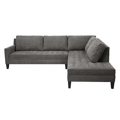 Vapor Sectional - 2 Piece (Right-Arm Daybed) - Z Gallerie