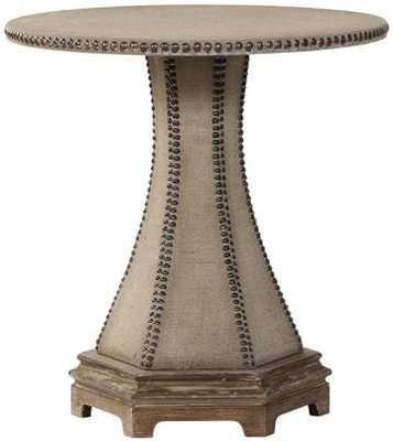 Parisian Nailhead End Table - Home Decorators