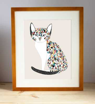 Calico Cat Illustration - Etsy