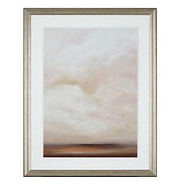 Fall Sunset 1 - 29.75''W x 37.75''H - Framed - Z Gallerie