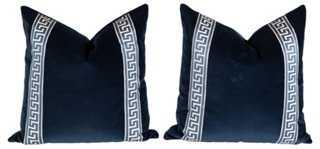 Greek Key Pillows - One Kings Lane