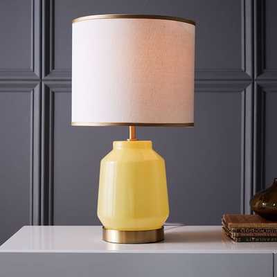 Roar + Rabbit Faceted Glass Table Lamp - West Elm
