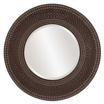 Transitional Hampton Round Wall Mirror - Wayfair