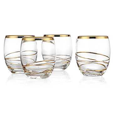 Olympia Barware - Double Old-Fashioned - Set of 4 - Z Gallerie