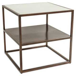 Islington Side Table, Parchment - One Kings Lane
