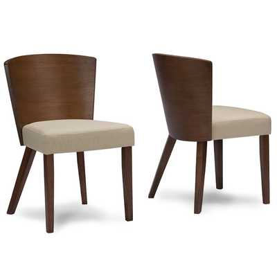Baxton Studio Sparrow Side Chair - set of 2 - Wayfair
