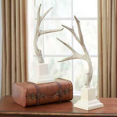 Bauer Antler Statues - Set of 2 - Wayfair