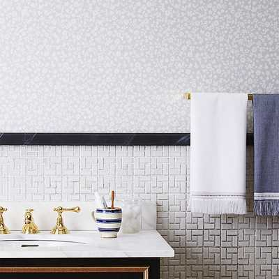 The Hill-Side floral self-adhesive wallpaper - CB2