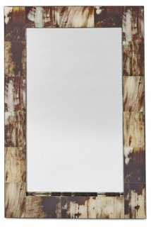Lonny Wall Mirror, Brown - One Kings Lane