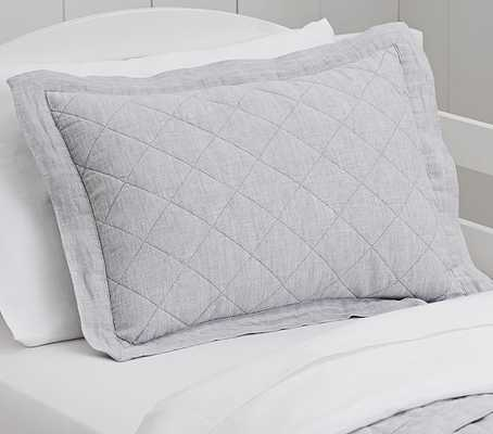 Small Quilted Sham - Pottery Barn Kids