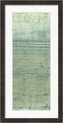 "Boardwalk V - 19"" x 37"" - Dark Mocha Brown Frame - framedart.com"
