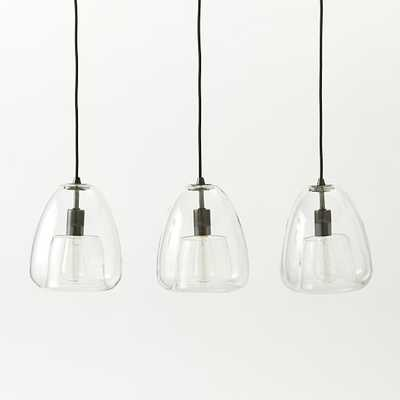 Duo Walled Pendant - 3-Light - West Elm