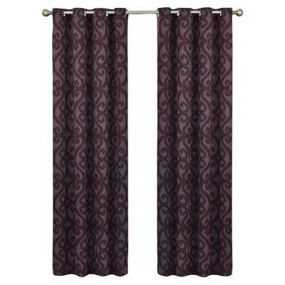 "Payater Window Single Curtain Panel - 95"" - Wayfair"