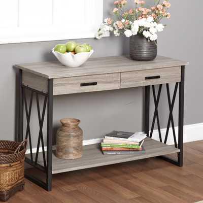Simple Living Seneca XX Reclaimed Look Sofa Table - Overstock