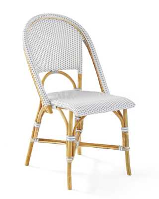 Riviera Side Chair - Fog - Serena and Lily