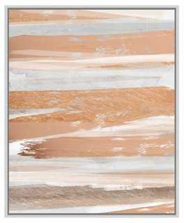 "Cynthia Alvarez, Rose and Gold - 28.75"" x 37.75"" - framed - One Kings Lane"