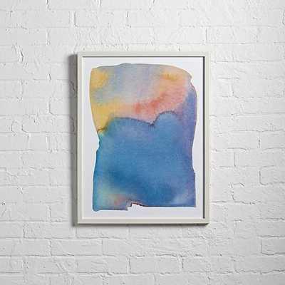 "Summer Watercolor Wall Art - 20""Wx0.75""Dx26""H - framed - Land of Nod"