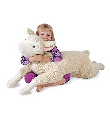 Snuggle Lamb Body Pillow - Amazon