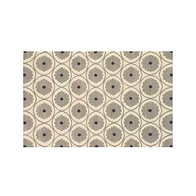 Ridley Wool Dhurrie Rug - Crate and Barrel