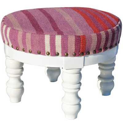 Indo Upholstered Ottoman - Wayfair