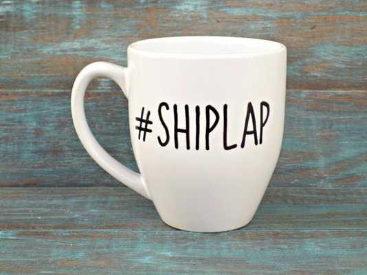 Shiplap Mug-No rush - Etsy