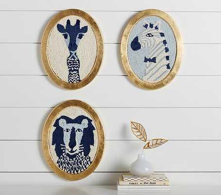 """Emily & Meritt Framed Animal Art - GIRAFFE - 14"""" x 11"""" - Pottery Barn Kids"""