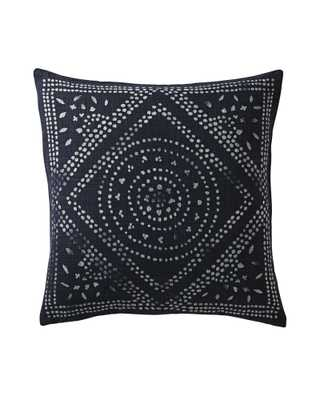 Camille Diamond Medallion Pillow - Serena and Lily
