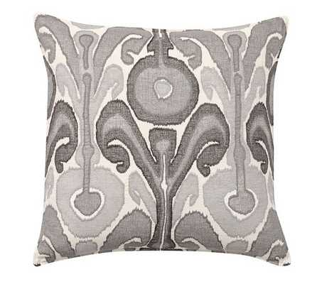 KENMARE PILLOW COVER - Gray - 24sq - Pottery Barn