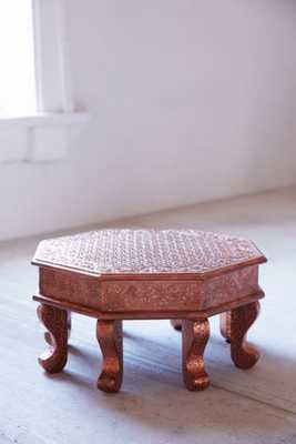 Copper Stamped Mini Stool - Urban Outfitters