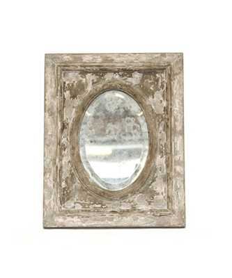 Oval Inset Mirror - Bliss Home and Design