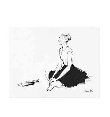 Danse - 11 x 14 - Framed (White) - riflepaperco.com