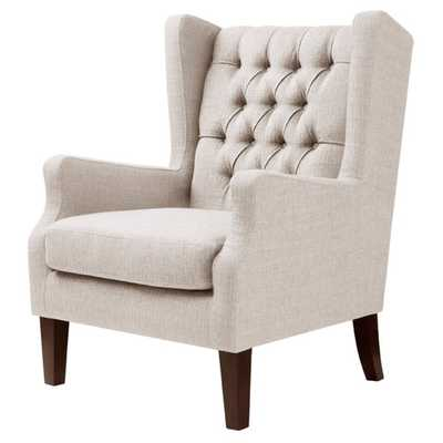 Maxwell Natural Wing Chair - Overstock