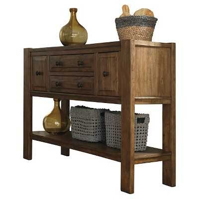 Birnalla Dining Room Server Wood/Light Brown - Signature Design by Ashley - Target