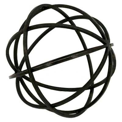 Tabletop Metal Orb Medium - Target