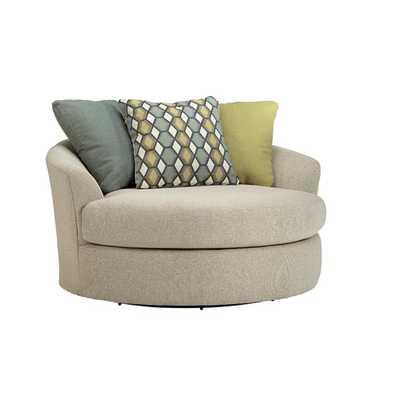 Casheral Oversized Swivel Chair - Wayfair