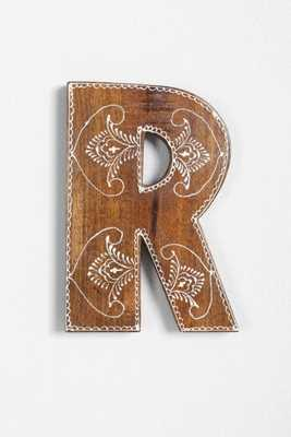 Magical Thinking Henna Letter - R - Urban Outfitters