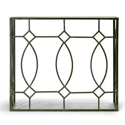 Aaralyn Mirrored Console Table - Wayfair