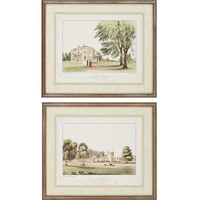 "Lancashire Castle I by Greenwood 2 Piece Framed -22"" H x 26"" W x 1"" D - Wayfair"