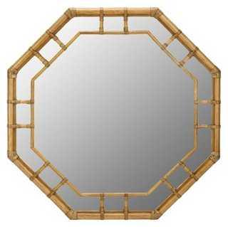 Ciaran Wall Mirror, Nutmeg - One Kings Lane